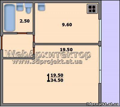 Перепланировка квартир П- KV-Design
